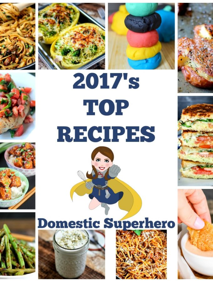 2017's Best Recipes