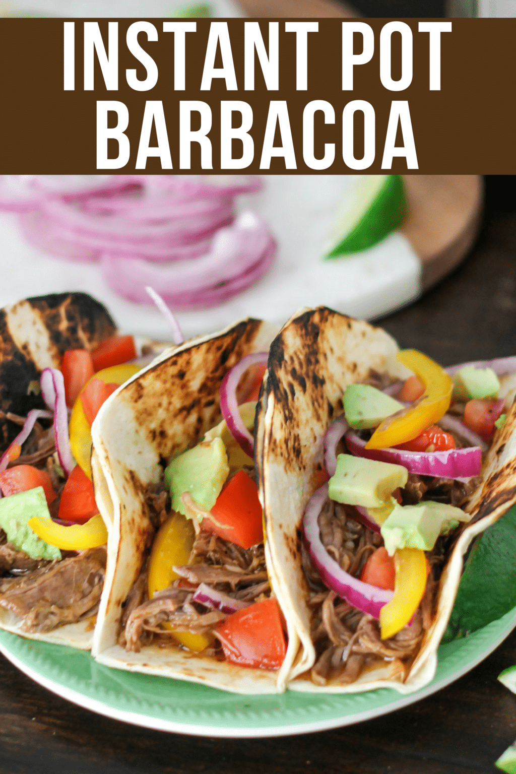 Making Barbacoa in the Instant Pot is a huge time saver, but you don't lose any of the authentic flavor, and it turns into the perfect easy weeknight meal!