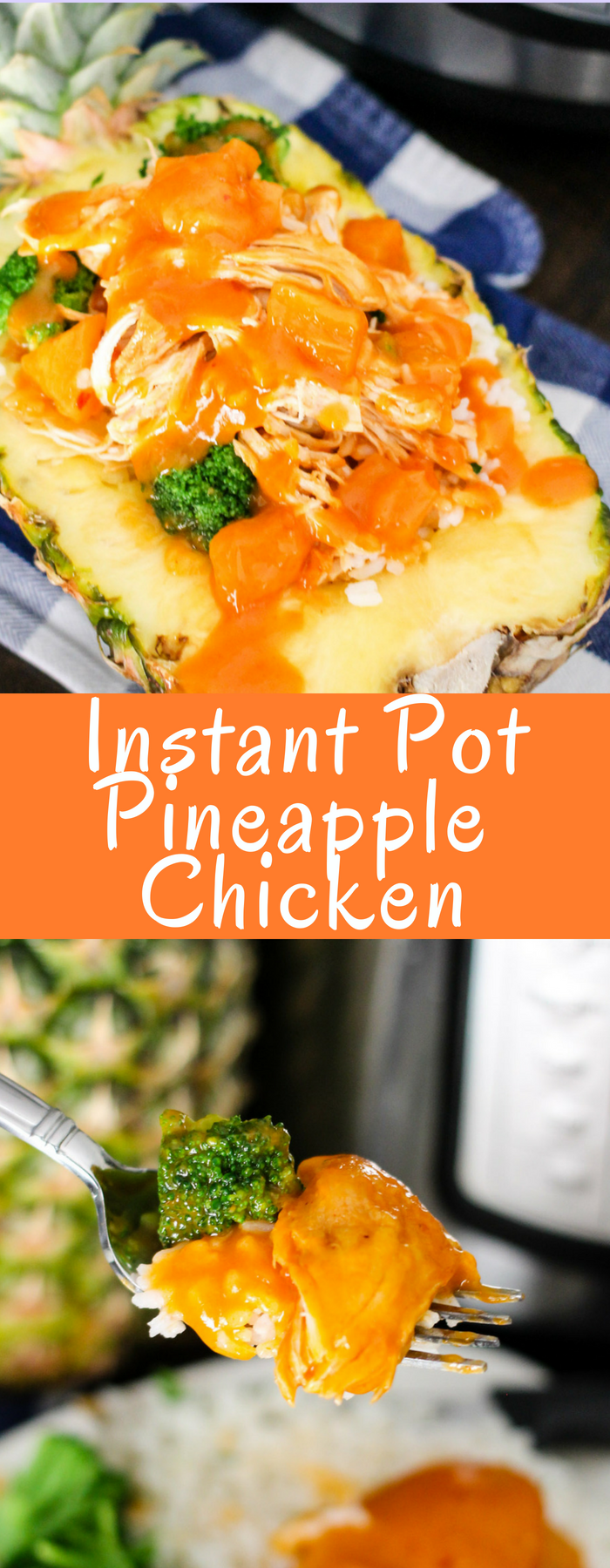 Instant Pot Pineapple Chicken is an easy and delicious family friendly meal that is done in minutes and only uses one pot!