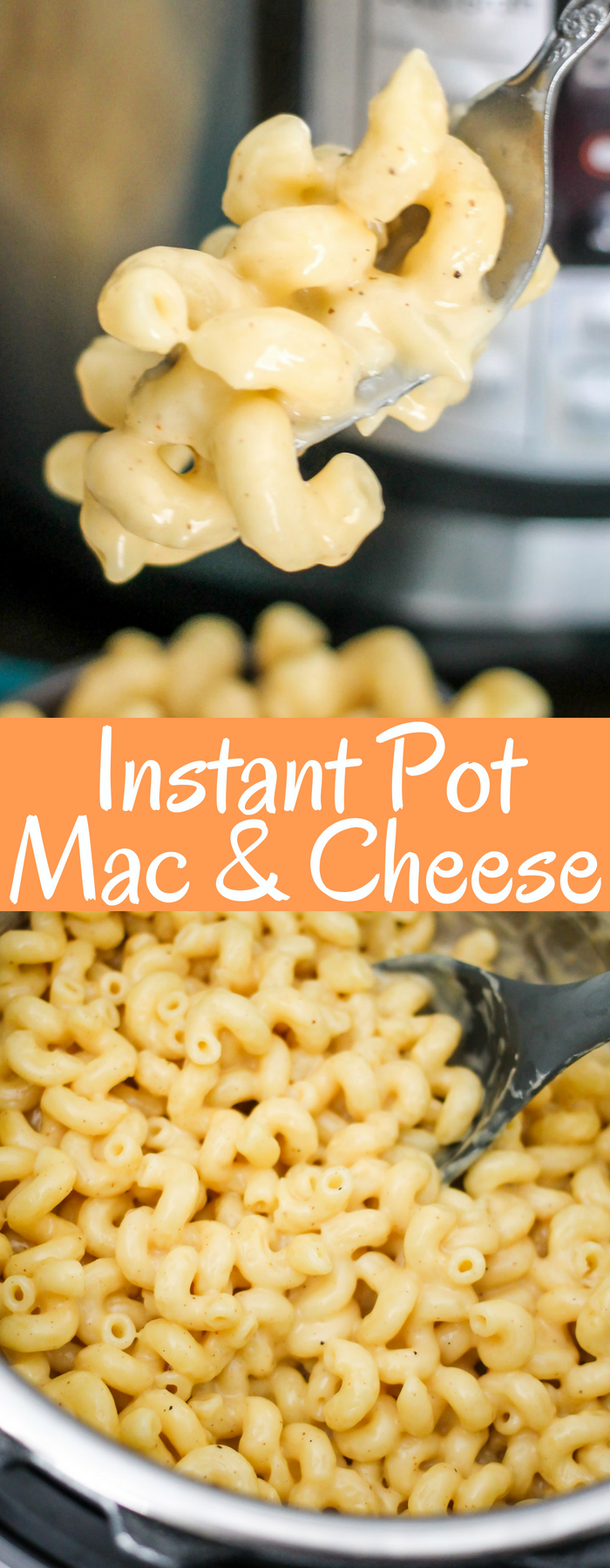 Instant Pot Mac and Cheese takes hardly any time to cook, is majorly creamy and delicious, and will become your go-to mac and cheese recipe!
