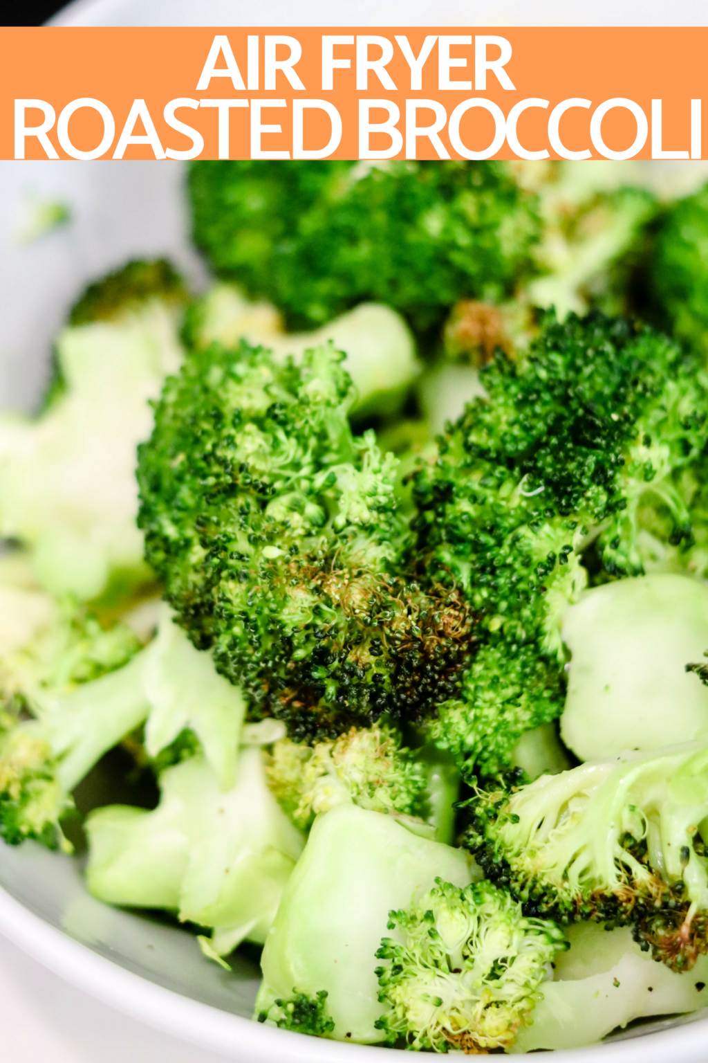 Air Fryer Roasted Broccoli Low Calorie Low Carb Domestic Superhero