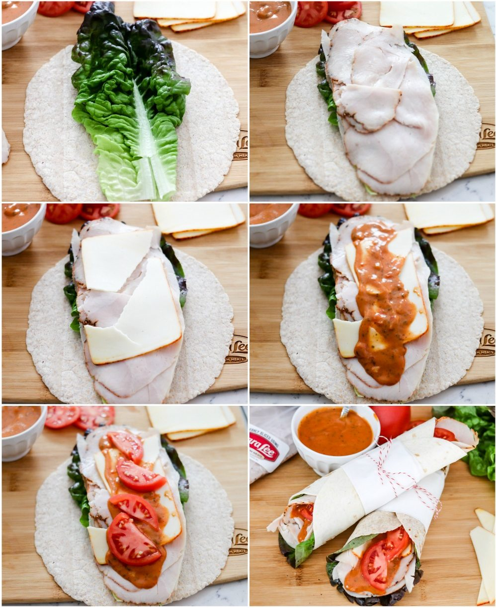 how to make turkey tikka masala wraps