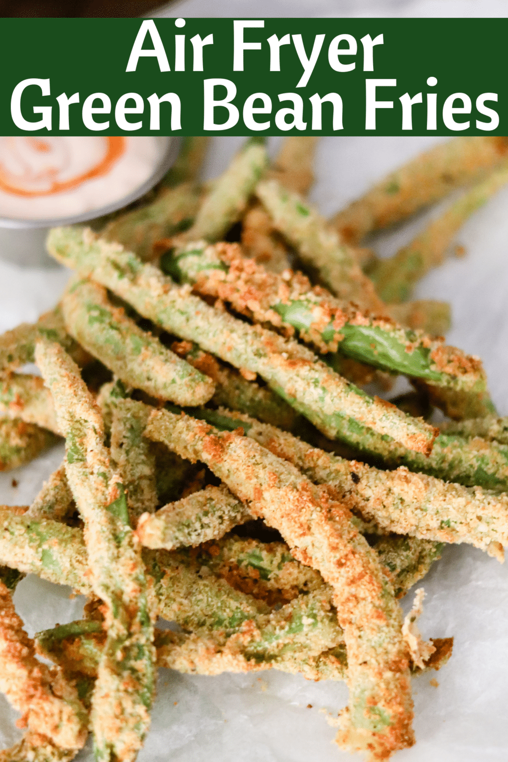 Air Fryer Green Bean Fries No Oil Recipe Domestic Superhero
