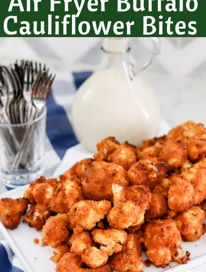 Air Fryer Buffalo Cauliflower Bites (No Oil)
