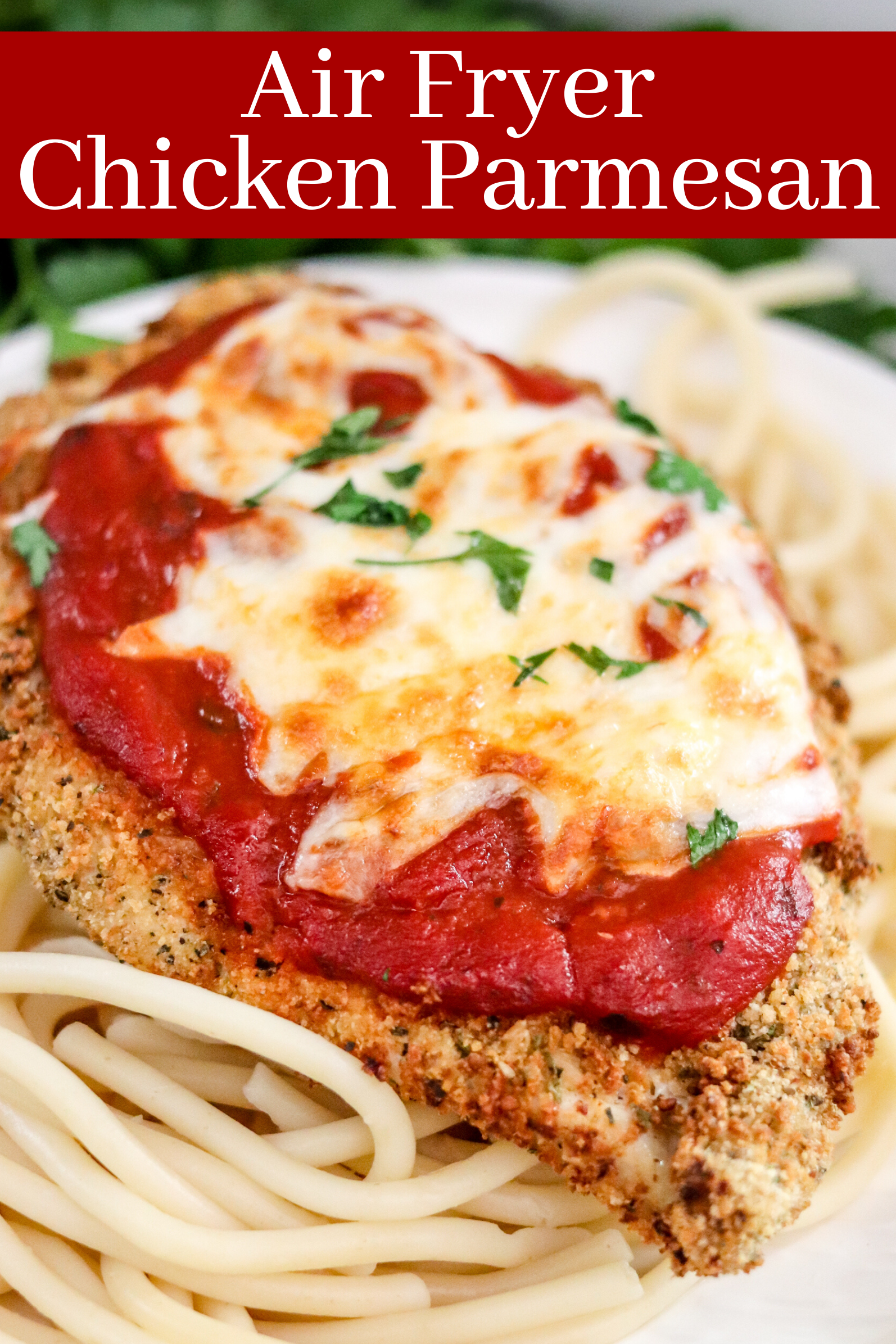 Air Fryer Chicken Parmesan Domestic Superhero