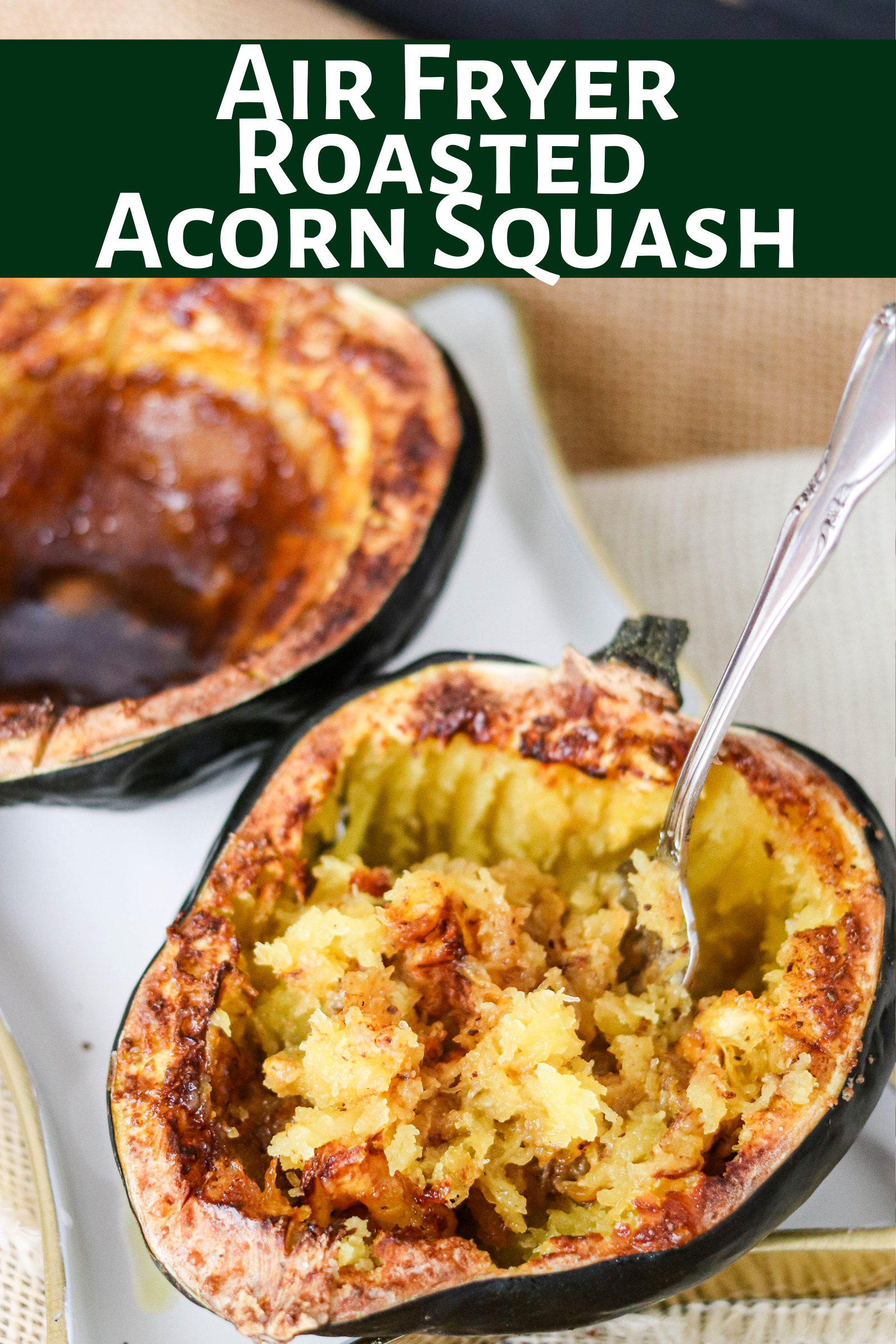 Air Fryer Acorn Squash With Baking Directions Domestic Superhero