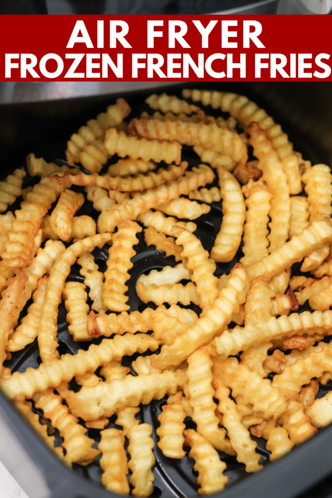 Frozen French fries are a quick and convenient side to throw into the air fryer! They cook super fast and turn out perfectly crispy every time!