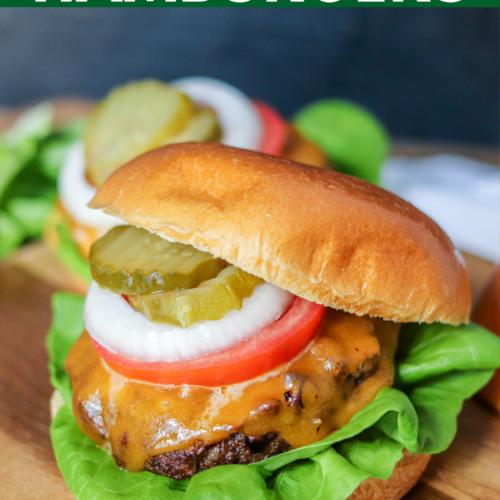 Air Fryer Hamburgers Domestic Superhero