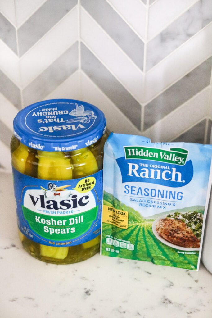 pickles and ranch seasoning